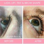 Lash, Lift Tint and Brow Shape