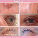 Eyelash Lift & Tint before and after