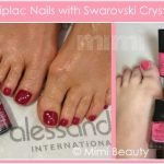 Striplac nails with crystals